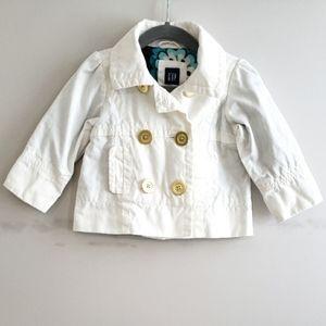 Baby Gap Chino Spring Pea Coat Jacket 18-24M